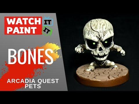 Arcadia Quest Pets - Painting Bones