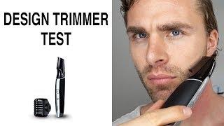 RASIERER TEST ● DESIGN Trimmer TEST   Bart trimmen mit Panasonic Männerrasierer
