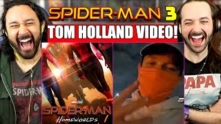 FIRST SPIDER-MAN 3 VIDEO Shared By Tom Holland! Gwen Stacy In Spider-Man 3?! REACTION! by The Reel Rejects
