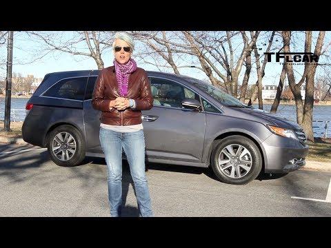 Drive & Review 2014 Honda Odyssey Minivan 0-30 MPH