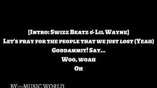 Swizz Beatz Ft Lil Wayne   Pistol On My Side (Lyrics)