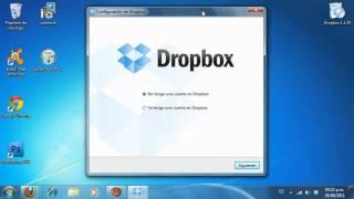 Descargar e Instalar Dropbox