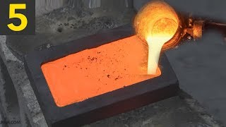Top 5 Gold Bar Smelting Videos