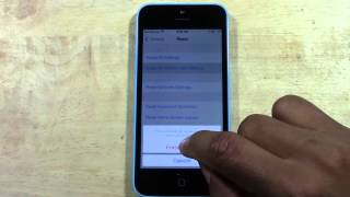 iPhone 5c - How to Reset Back to Factory Settings​​​ | H2TechVideos​​​