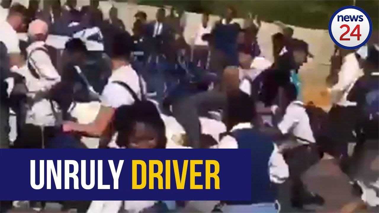 Motorist Ploughs Through Group Of Pupils Outside Johannesburg School - WATCH VIDEO