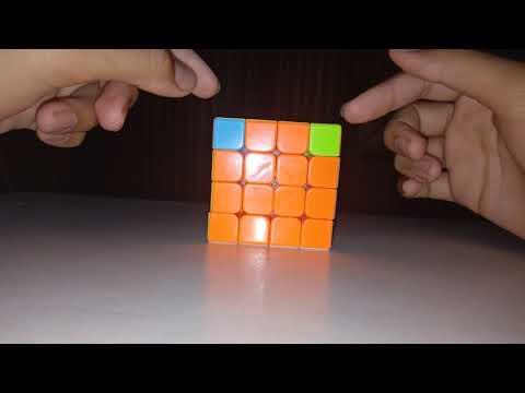 How to solve corner parity in 4×4 cube in hindi - смотреть онлайн на