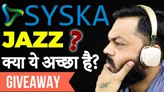 Syska Jazz Bluetooth Headset REVIEW - कैसा है ये ?