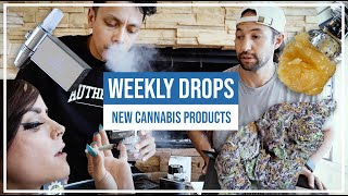 TRYING NEW CA CANNABIS PRODUCTS! DABX, JAWBREAKERS, SILVER WOVEN WRAPS & MORE!!! by HighRise TV
