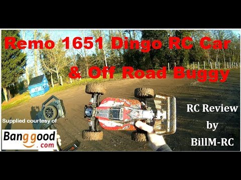 Remo 1651 Dingo RC Car & Off Road Buggy review
