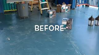 Anti Slip Treatment Results and Non Slip Services Photos