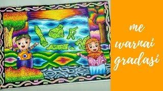 Belajar Menggambar Dan Mewarnai Orang Dengan Crayon ฟร ว ด โอ