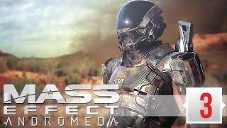 Mass Effect: Andromeda Прохождение (3) - КОСМИЧЕСКАЯ МАШИНА 2в1  (МАСС ЭФФЕКТ АНДРОМЕДА СТРИМ)
