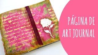 Página de Art Journal: La leyenda de Sant Jordi. Inspírate conmigo