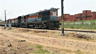 (12037) Shatabdi Express (New Delhi - Ludhiana) Via (Dhuri) With WDM3A Locomotive.!