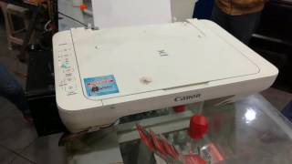 como resetar impressora canon mg2400 - Free video search