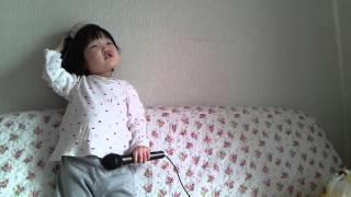 2歳で歌ってみた 童謡 ちょうちょう