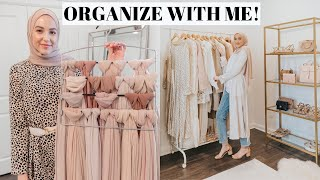 Major Closet Declutter And Organization! + How I Organize My Hijabs