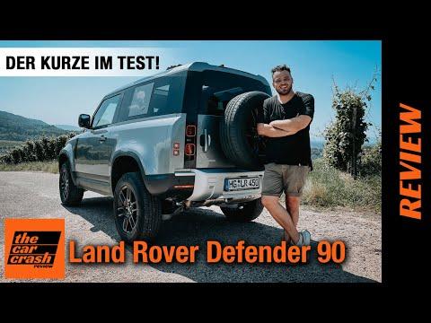 Land Rover Defender 90 (2021) Endlich: Der Kurze im Test! 🏔️ Fahrbericht   Review   On/Offroad   4x4