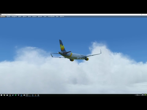 Aerosoft A321 Test Flight | EGLL Departure| P3DV4 3| 4K