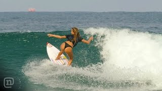Alana Blanchard Surfs Uncrowded Waves In Mexico