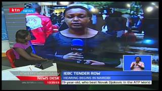 Hearing on IEBC Tender Row continues as Cord and Jubilee seek to be enjoined