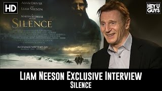 Liam Neeson   Silence Exclusive Interview