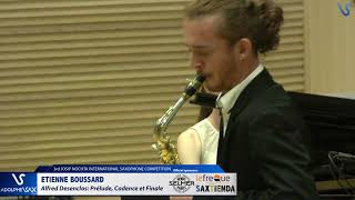 Etienne Boussard plays Prelude, Cadence et Finale by Alfred Desenclos