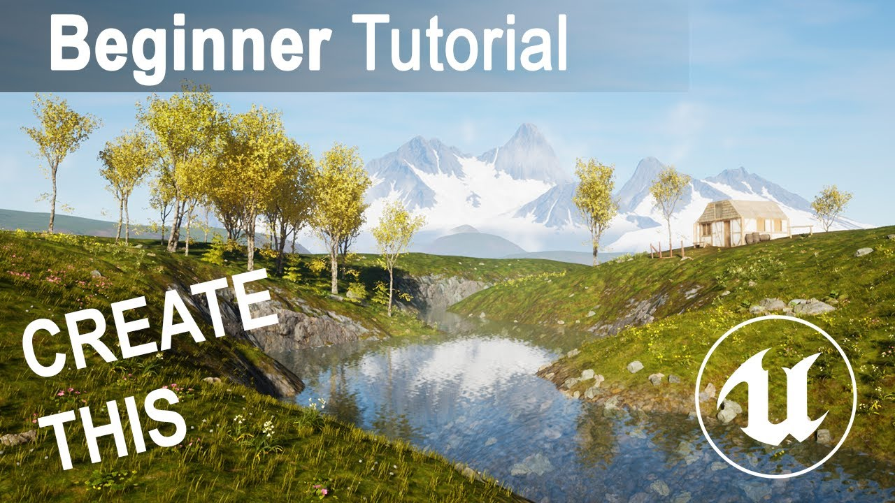 Unreal Engine 4 Beginner Tutorial - Create Worlds in UE4