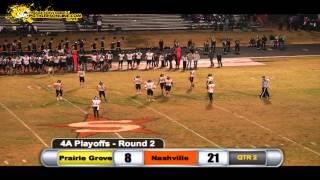 Prairie Grove (32) vs Nashville (49) 2014