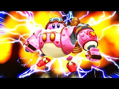 Видео № 1 из игры Kirby: Planet Robobot + amiibo Kirby [3DS]