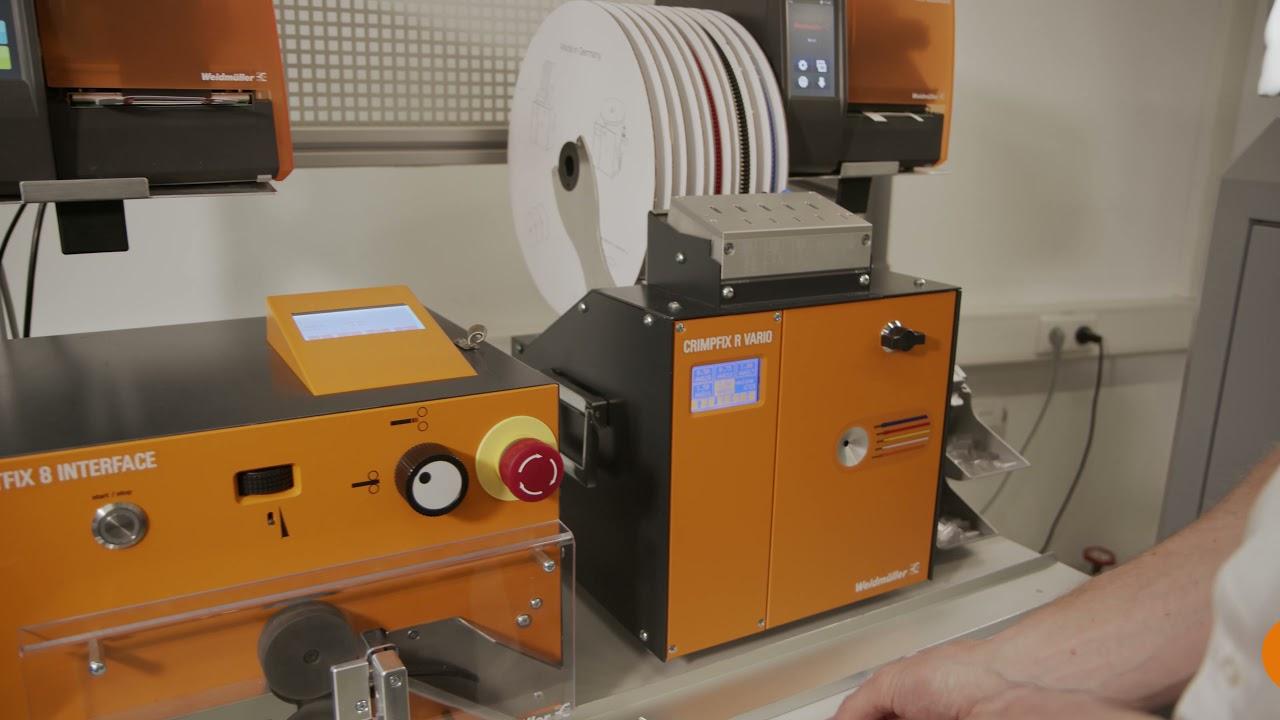 16. Semiautomatische Kabelkonfektion mit dem Wire Processing Center