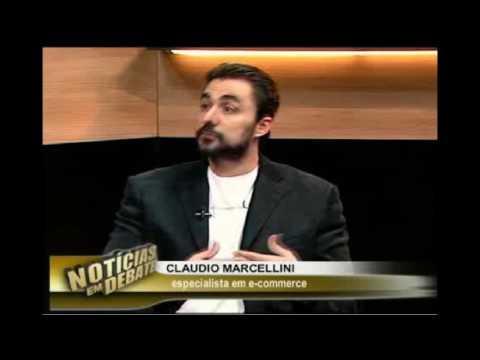 Claudio Marcellini em entrevista sobre o comércio eletrônico – TVB BAND 2016