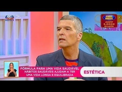 """Dr. Humberto Barbosa no programa """" Queridas Manhãs """" da SIC."""