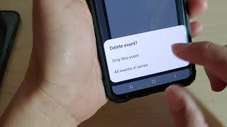 Galaxy S10 / S10+: How to Delete a Repeated Calendar Event (All Event Series)