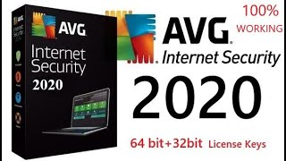 AVG Internet Security 2018 @ 100% Working License key [Lifetime]