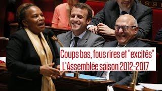 Gambar cover Rires, larmes et passes d'armes: un quinquennat à l'Assemblée nationale