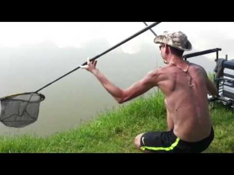 Preparazione di grano per pesca