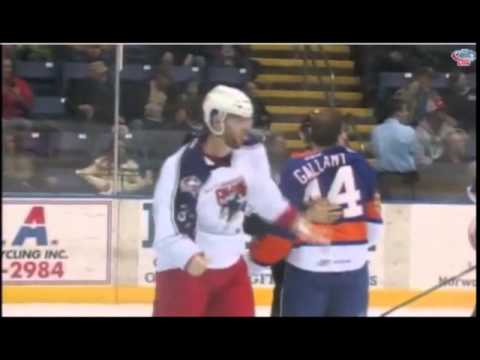 Mathieu Gagnon vs. Matt Carkner