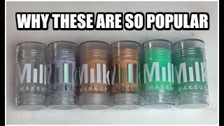 Milk Makeup Sticks   Review & Swatches