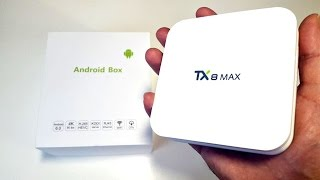 2017 Tanix TX8 MAX Android TV Box Review - Powerful Octa-Core ( 8 CORE ) 3GB
