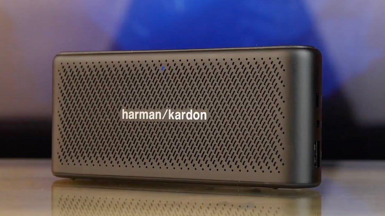 Акустика Harman Kardon Traveler Black (HKTRAVELERBLK) video preview