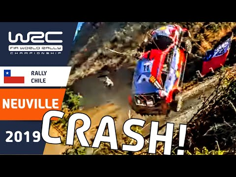WRC- Accidente Neuville