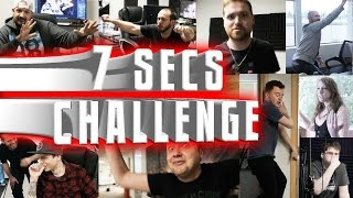 THE 7 SECONDS CHALLENGE! w/ THE OFFICE!