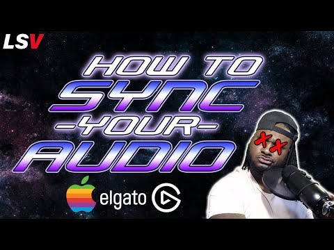 How To Sync Commentary Tutorial (Mac and Elgato Setup)
