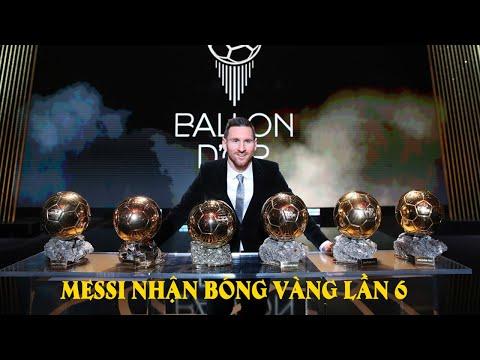 Messi Nhận Quả Bóng Vàng 2019 Lần 6  - Vượt Mặt Ronaldo