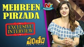 Mehreen Pirzada Exclusive Interview   Pantham Movie   NTV