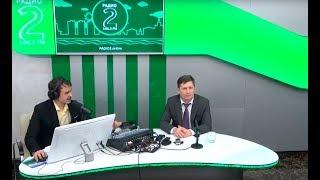 Интервью губернатора края Сергея Фургала блогерам и пре...