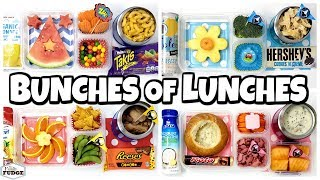 Ninja Kidz TV Chooses Our Lunches + Kids React😱 School Lunch Ideas for KIDS