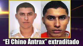 """""""El Chino Ántrax"""" extraditado a EU"""