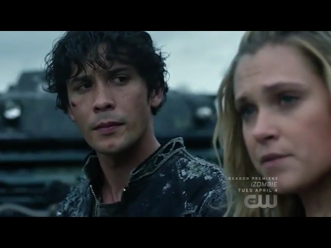 """Bellarke: """"She'll see how special you are"""" + """"Clarke if I don't see you again"""" (The 100: 04x06)"""